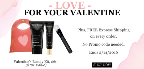 New valentine's beauty kit plus free express shipping