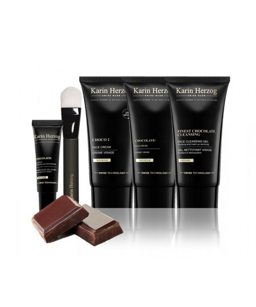 CHOCO2 SET | Indulgent Chocolate Oxygen Facial Kit