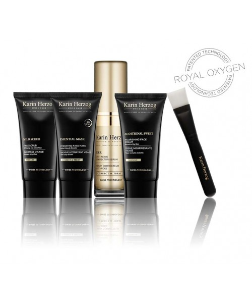 ROYAL OXYGEN REGIME |Age-defying facial kit